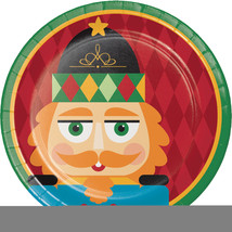 "Nutcracker 7"" Dia. Paper Luncheon Plate, Case of 96 - $48.84 CAD"