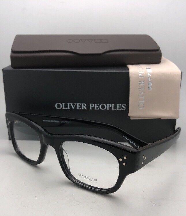 d476c459f0c 57. 57. New OLIVER PEOPLES Eyeglasses BRADFORD OV 5229 1005 50-20 145 Black  Frame. Free Shipping