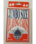 Jumbo Size Playing Cards Large Sized Playing Cards 4.75 x 6.5 Inches - $5.89