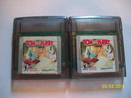 Tom and Jerry (Nintendo Game Boy Color, 1999) Authentic - $5.31