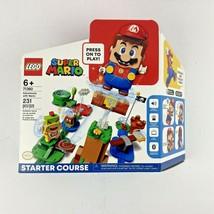 LEGO 71360: Super Mario Adventures with Mario Starter Course NEW  - $89.99
