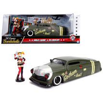 1951 Mercury Matt Green with Harley Quinn Diecast Figure DC Comics Bombshells Se - $36.27