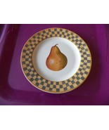 Block Country Orchard-Pear salad plate 2 available - $2.38