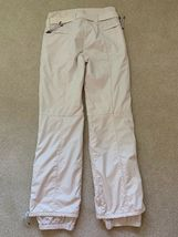 JSX. JET SET St. Moritz White with Red Star Ski Pants, Sz.1 Purchased in Gorsuch image 4