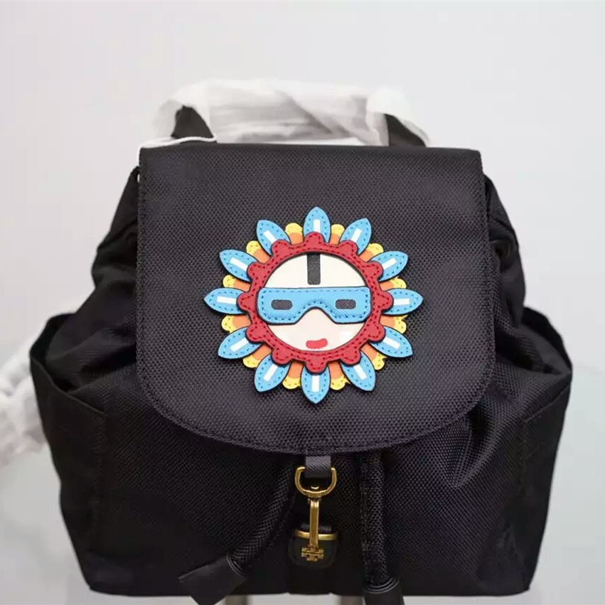 Tory Burch Flower Child Applique Backpack