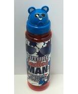 """Novelty Sippin' Buddies 24oz Water Bottles W/ Flip Top Straw/Animals """"Fu... - $6.68"""