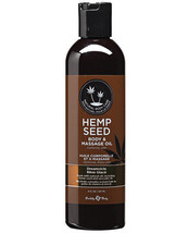 Earthly Body All Natural Hemp Seed Body & Massage Oil 8oz - $16.99