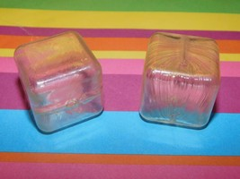 Fisher Price Fun With Food Replacement Ice Cubes Lot of 2 Play food for Kitchens - $14.84
