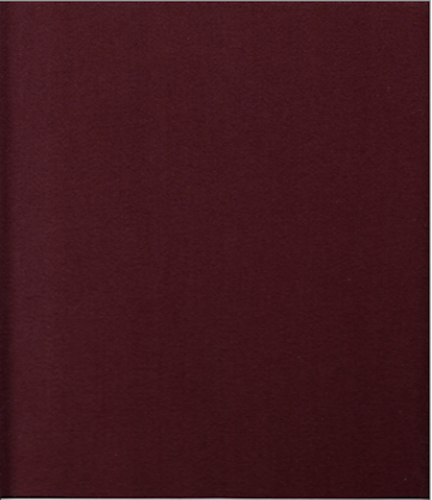 17 yds HBF Upholstery Fabric Mid Century Modern Satin Drape Wool Mahogany BW6