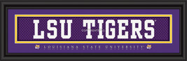 LSU Officially Licensed Stitched Jersey Framed Print -  2 Designs - $39.95