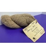Pure Wool Yarn Hank SPICE HEATHER 2 Ply 4oz Chester Farms Vintage Brown - $19.79