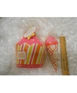 New lot 2 Hallmark Bath set Towel & Washcloth tutti-frutti & sweet cheek... - $8.42