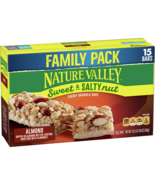 Nature Valley Sweet & Salty Nut Chewy Granola Bars, Almond, 15 Ct - $12.00