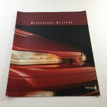 1992 Mitsubishi Eclipse Dealership Car Auto Brochure Catalog - $9.45