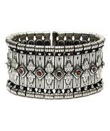 Gerochristo 6005 - Solid Sterling Silver & Garnet Medieval-Byzantine Bra... - $1,490.00