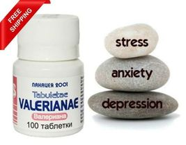 Valerian Valeriana 100% natural sleep insomnia anxiety depression stress 100 tab - $10.99