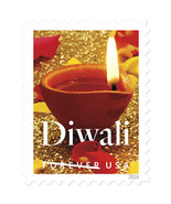 2016 47c Festival of Diwali, Hindu Holiday, Autumn Scott 5142 Mint F/VF NH - €1,31 EUR