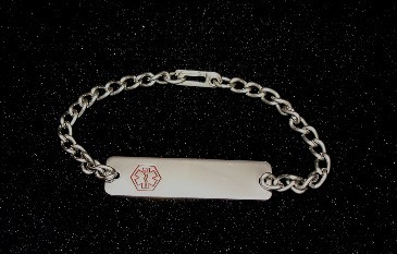 Ladies Medical ID Bracelet - Free Engraving