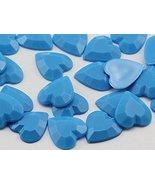 KraftGenius Allstarco 15mm Flat Back Heart Acrylic Rhinestones Plastic G... - $5.34