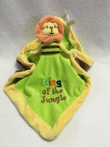 Baby Essentials Lion Monkey Reversible Flip Security Blanket King Jungle READ - $12.99