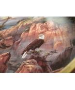 Framed Plate-Vigilant Beacon from God Bless America Series-Danbury Mint - $22.00