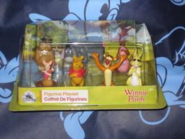 Winnie the Pooh Disney Playset 7 Piece Figure Figurine. Brand New. - $22.00