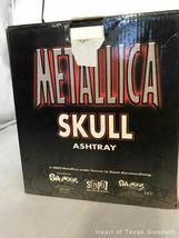 2002 Metallica Rare Pushead Skull Ashtray Statue Bust Stash Original Box IOB image 3