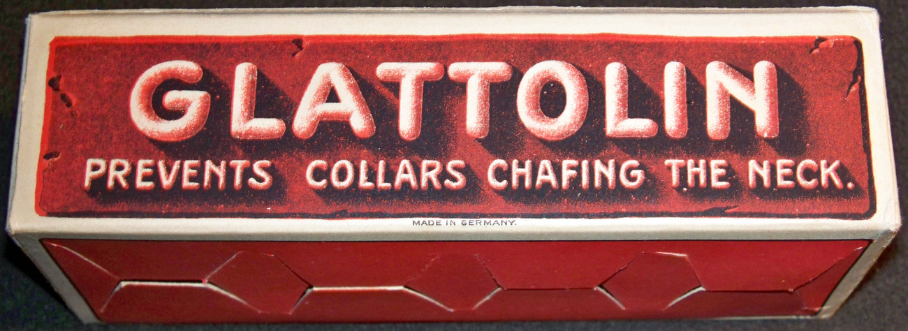 Unique! Glettoline / Glattolin Advertising Display, 1910's