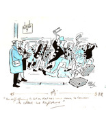 Original Bill Tidy Cartoon - $185.00