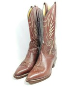 Frye Western Boots Women's Sz 8.5 AA Width Brown Leather Uppers 6210 (tu27ep) - $78.21