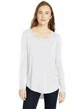 Brand - Daily Ritual Women's Jersey Long-Sleeve,White, Size XX-Large new in pack