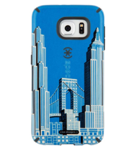 Speck Products Candy Shell Inked Case For Samsung Galaxy S6 Cityscape 2 New - $11.87