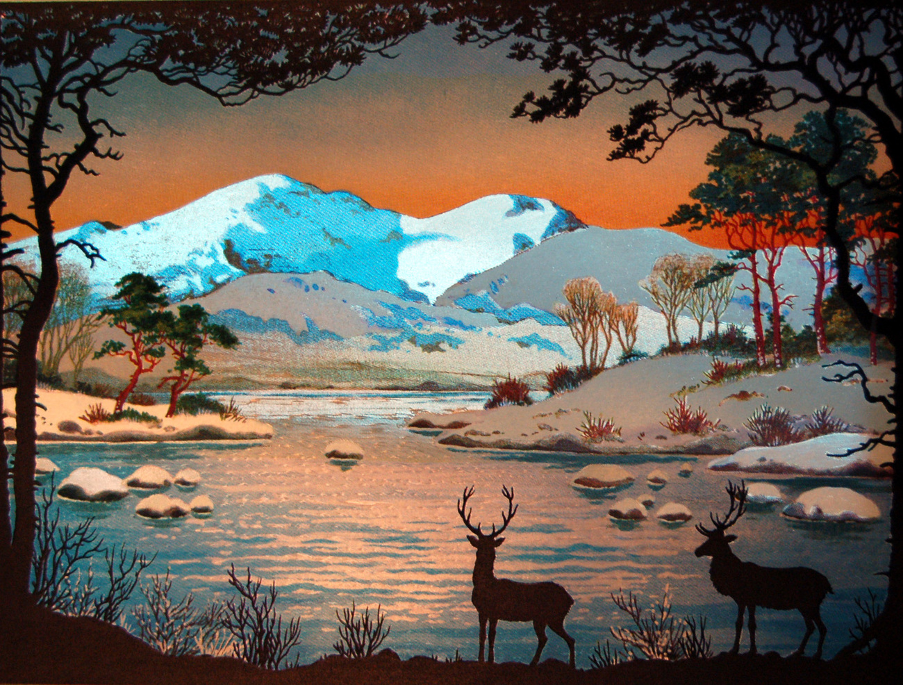158942 mountain deer