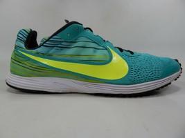 Nike Zoom Streak LT 2 Size 13 M (D) EU 47.5 Men's Running Shoes Green 599532-407
