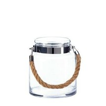 Hanging Rope Hurricane Candle Holder - £18.58 GBP