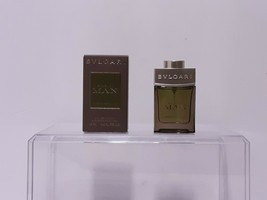Bvlgari Man Wood Essence Eau De Parfum 15ml 0.5 FL OZ NEW - $27.43
