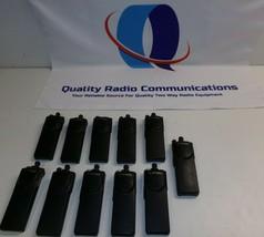 11 Motorola Astro XTS3000 403-470 MHz P25 UHF Two Way Radios H09RDC9PW5BN - $237.59