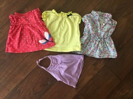 LOT OF 4 Baby Girls Blouses / Tops SIZE 6 months - $5.69
