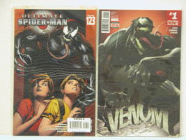 VENOM #1 AND ULTIMATE SPIDER-MAN #123 - FREE SHIPPING - $18.70
