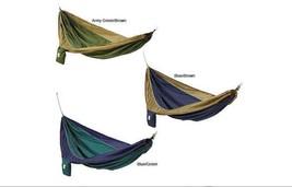 Lightweight Parachute Silk Waterproof Two-person Hammock w/ Stuff Sack &... - $44.30+