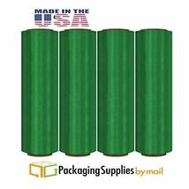 "Green Wrap Pre-Stretch Hand Film 17"" x 1476' 32 Ga (8.5 Mic.) 256 Rolls ... - $2,227.49"