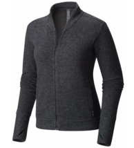 Mountain Hardwear Women's Small Sarafin Long Sleeve Bomber Cardigan Styl... - $66.22