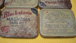 Blackstone Magnesia Tablets, Vintage Metal Tins - $6.50