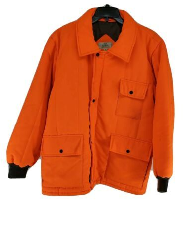 Primary image for Red Head Hunting Jacket Mens Sz Medium Blaze Orange Insulated (hg)