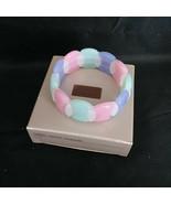 Vintage Avon Pastel Parfait Multi-Colored Expandable Bracelet in Origina... - $24.18