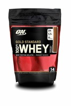 Optimum Nutrition Gold Standard 100% Whey, Double Rich Chocolate, 1 Pound - $19.69