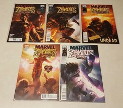 Comic Book Lot 5 Marvel Zombies SUPREME1 2 3 4 5 Nm Board Sleeve - $12.87