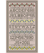 To Everthing A Season Sampler PDF cross stitch chart John Shirley new de... - $5.00