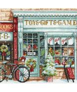 Gold Collection Petite Toy Shop Kit christmas cross stitch Dimensi - $11.70