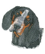 "Blue-tick Coonhound dog face Embroidery IronOn/Sew patch [4.5"" x 4.5""][M... - $8.90"